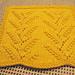 Muguets (Lily) Dishcloth pattern