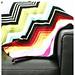 Missoni Inspired Chevron Blanket pattern