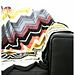 Vintage Missoni Inspired Chevron Blanket pattern