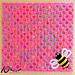 Bees a-Buzzin' pattern