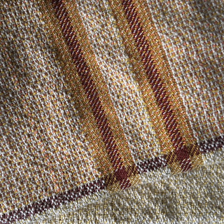 Twill stripes with MD book variation in body.