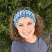 Puff Stitch Headband pattern