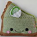 Key Lime Pie Kawaii Cuddler® pattern