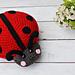 Ladybug Kawaii Cuddler® pattern