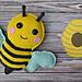 Bumblebee Kawaii Cuddler® pattern