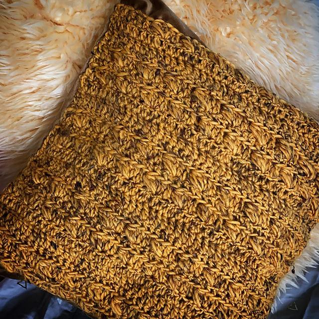Free crochet pattern pillow cover