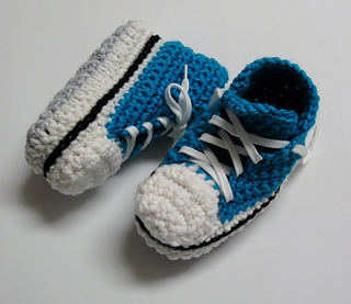 Ravelry Childrens Converse Slippers Pantoufles Converse