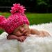 Chunky Jester Pompom Baby Hat pattern