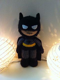 Toy Art Amigurumi Batman e Robin - por Crochelandia   320x239