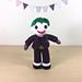 Joker Amigurumi pattern