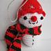 Snowman Christmas Decoration pattern