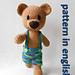 Crochet Teddy Bear in Pants pattern