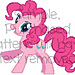 Party Gal Pony friend Afghan Graph pattern