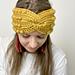 Boho Bobble Twist Headband pattern