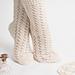 Carmine Lace Socks pattern