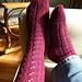 Whisper Rib & Shepherd's Lace Socks pattern