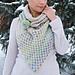 Reflections shawl pattern