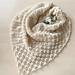 Snowdrop shawl pattern