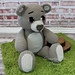 """""""Ted E. Bear"""" the Pillow Buddy pattern"""