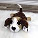 Bentley the Beagle Cuddler pattern