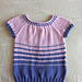 Children's Woven Cable Tee pattern