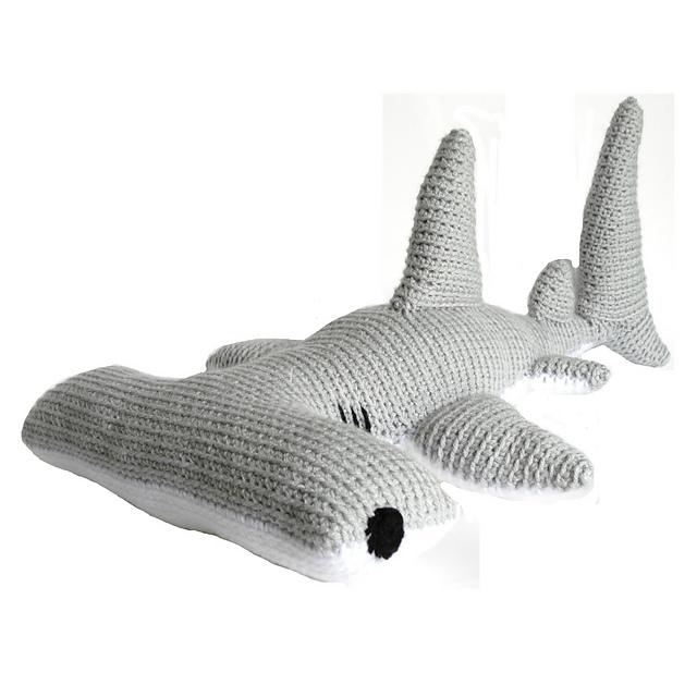 Tiburón amigurumi tutorial - YouTube | 640x640