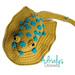Santino the Blue-Spotted Stingray pattern