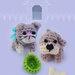 Cat and Dog Cuties pattern