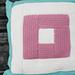 Log Cabin Cushion pattern