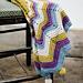 Celeste Nursery Blanket pattern
