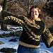 Drachen Jäger Kimono Sweater pattern