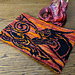 Celtic Flame Dragon Cowl pattern
