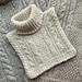 Fridagshals / neck warmer pattern