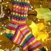 Fruit Stripe Gum Socks, Featuring a Spiral Rib pattern