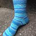 Twisted Breeze Socks Featuring Swirls and Zigzags pattern