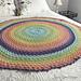 Double Daisy Mandala Blanket pattern