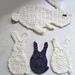 Bunny Appliqués pattern