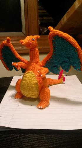 Mega Charizard Amigurumi Crochet Free Pattern - Amigurumi Free Patterns and  Amigurumi Tutorials   500x279