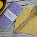Tunisian Honeycomb Dishcloth pattern