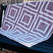 When granny square meets garter stitch pattern