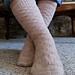 Rose Ladder Socks pattern