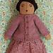 Little Raglan Cardigan for Dolls pattern