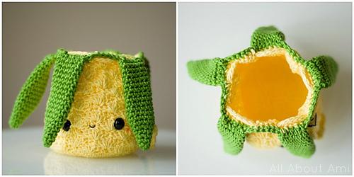 Amigurumi Pineapple Crochet Tutorial - YouTube | 250x500