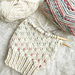 Chunky Duo-Color Dotty Beanie pattern