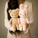 Boucle Bear and Bunny pattern