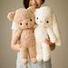 Fleece Teddy & Bunny pattern