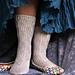 Walking on Clouds Socks pattern