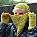 Bouquet Cowl pattern