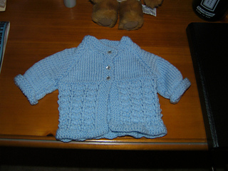 Ray of Hope Baby Sweater with Buttons