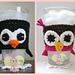 Penguin/Owl Drink Sleeve pattern